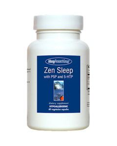 Zen Sleep with P5P and 5-HTP 60 vegcaps Allergy Research Group