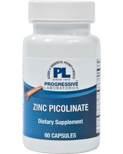 Zinc Picolinate 60 caps Progressive Labs