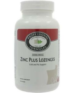 Zinc Plus Lozenges 90 loz by Professional Formulas