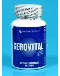 Gerovital GH3 60 tabs by Nutraceutics
