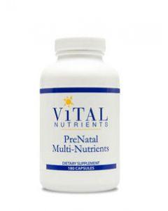PreNatal Multi-Nutrients 180 caps by Vital Nutrients