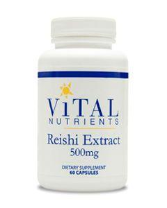 Reishi Mushroom Extract 500mg 60 caps by Vital Nutrients