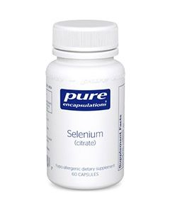 Selenium (selenomethionine) Pure Encapsulations