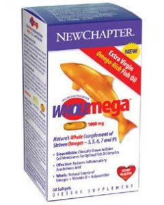 Wholemega 1,000 mg 60 softgels New Chapter