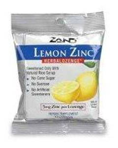 Lemon Zinc Herbalozenge 12 bags Zand