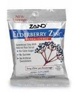 Elderberry Zinc Herbalozenge 12 bags Zand