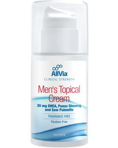 Men's Topical Cream 4 oz by AllVia
