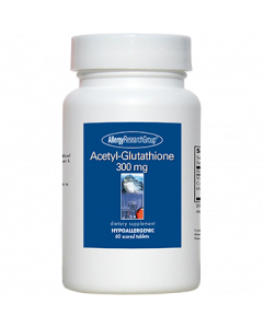 Acetyl-Glutathione 300mg 60 tabs Allergy Research Group