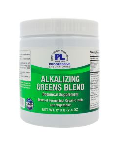 Alkalizing Greens Blend 210g (7.4 oz) Progressive Labs