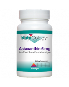 Astaxanthin 6 mg 60 softgels NutriCology