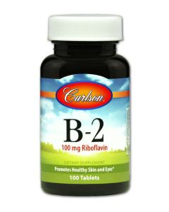 Vitamin B-2 100 mg Riboflavin