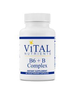 B6 + B Complex 60 caps Vital Nutrients