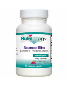 Balanced Bliss 60 vcaps Nutricology