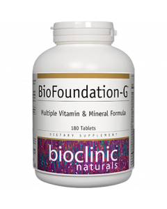 BioFoundation-G 180 tabs by Bioclinic Naturals