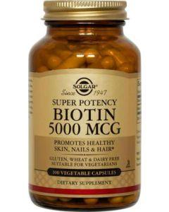biotin 5000 mcg 100 vcaps