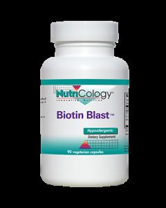 Biotin Blast 90 vcaps Nutricology