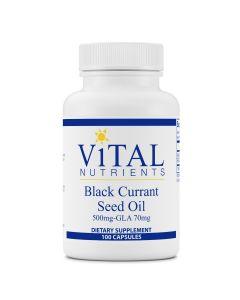 Black Currant Seed Oil 100 caps Vital Nutrients