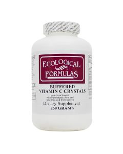Buffered Vitamin C Crystals 250g Ecological Formulas / Cardiovascular Research
