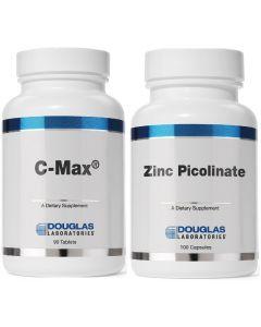 C-Max 1,500 mg + Zinc Picilinate 50 mg Douglas Labs
