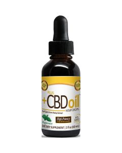 CBD Oil Gold Drops Peppermint