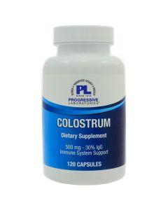 Colostrum 500 mg 120 caps Progressive Labs