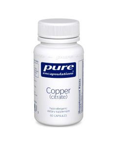 Copper citrate Pure Encapsulations