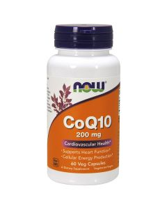 CoQ10 200 mg 90 vcaps NOW