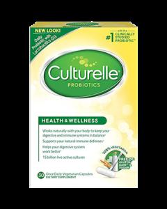 Culturelle Health and Wellness probiotics