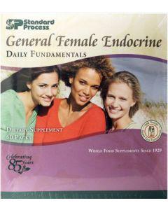 Daily Fundamentals General Female Endocrine 60 packs Standard Process