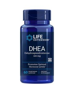 DHEA dehydroepiandrosterone 50 mg Life Extension