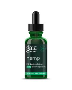 Gaia Herbs Hemp Full Spectrum Extract 20 mg 2 oz
