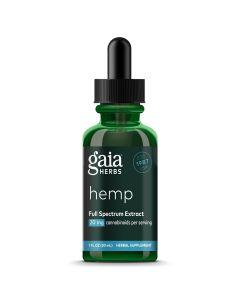 Gaia Herbs Hemp Full Spectrum Extract 20 mg 1oz Gaia Herbs