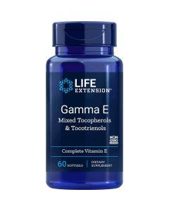 Gamma E Mixed Tocopherol & Tocotrienol 60 sgels Life Extension