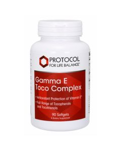 Gamma E Toco Complex 90 gels Protocol For Life Balance
