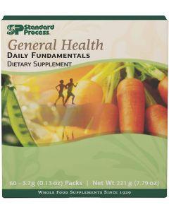 Daily Fundamentals General Health 60 packs Standard Process