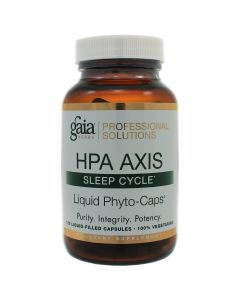 HPA Axis Sleep Cycle 120 lvcaps Gaia Herbs