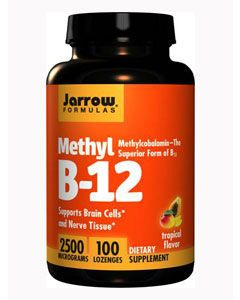 Methyl B-12 2500 mcg 100 loz by Jarrow Formulas