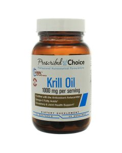 Krill Oil 1000 mg 60 softgels Prescribed Choice