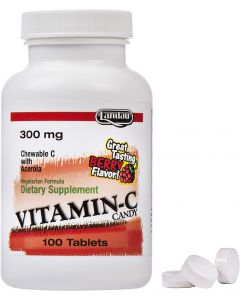 Landau Vitamin C Candy 300 Mg 100 tabs