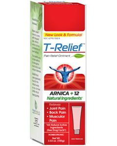 T-Relief Pain Relief Ointment 100 gms (formerly Traumeel Ointment) by MediNatura
