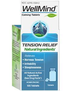 WellMind Calming 100 tabs (formerly Neurexan) by MediNatura