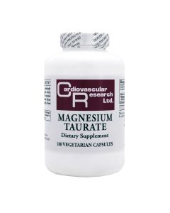 Magnesium Taurate 125 mg 180 vcaps Ecological Formulas / Cardiovascular Research