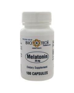 Melatonin 20 mg 100 caps Bio-Tech