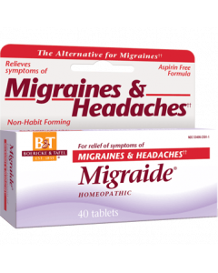 Migraide 40 tabs Boericke & Tafel