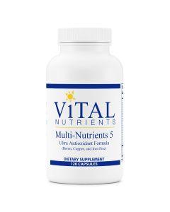 Multi-Nutrients 5 120 caps Vital Nutrients