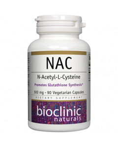 NAC 500mg 90 vcaps by Bioclinic Naturals