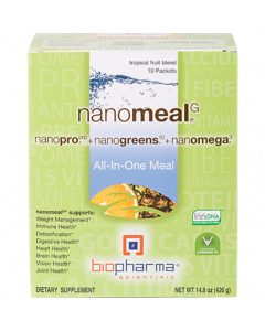 NanoMeal Tropical Fruit 10 pkts by BioPharma Scientific