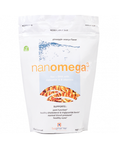 NanOmega3 Pineapple Orange 12.7oz by BioPharma Scientific