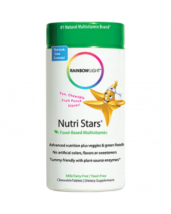 Nutristars Multivitamin 120 chews by Rainbow Light Nutrition
