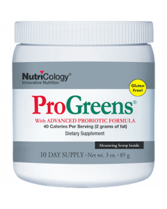 Progreens 10 day supply Nutricology